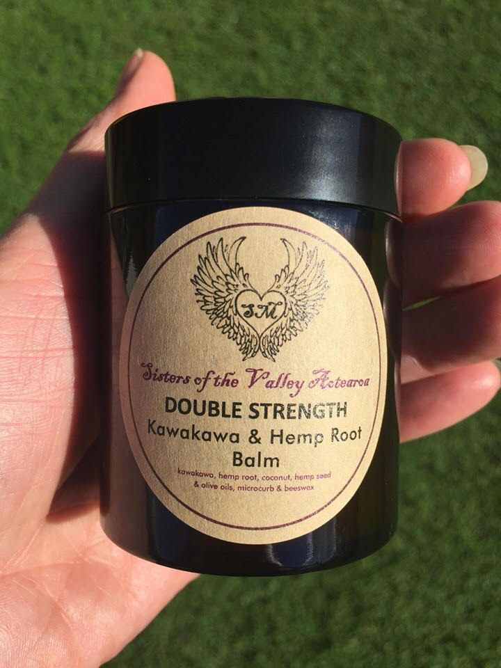 Double Strength Kawakawa & Hemp Root Balm